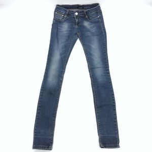 GUCCI Jeans 27 x 34 Womens Skinny Low Rise Stretch
